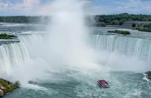 Самый крупный водопад вСША