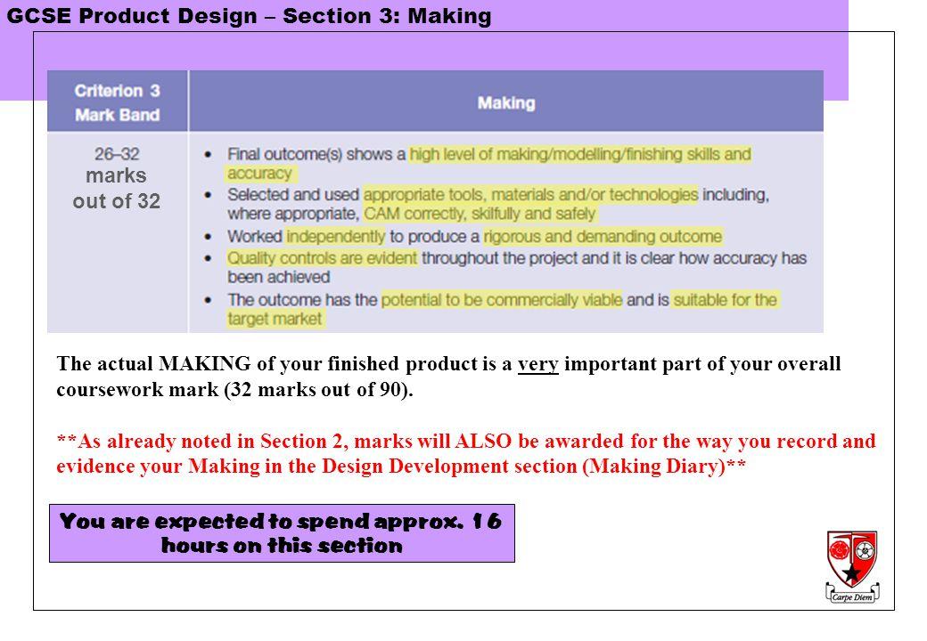 Gcse coursework examples