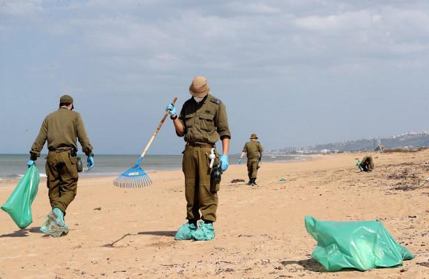 Израиль закрыл пляжи из-зазагрязнения воднефтепродуктами