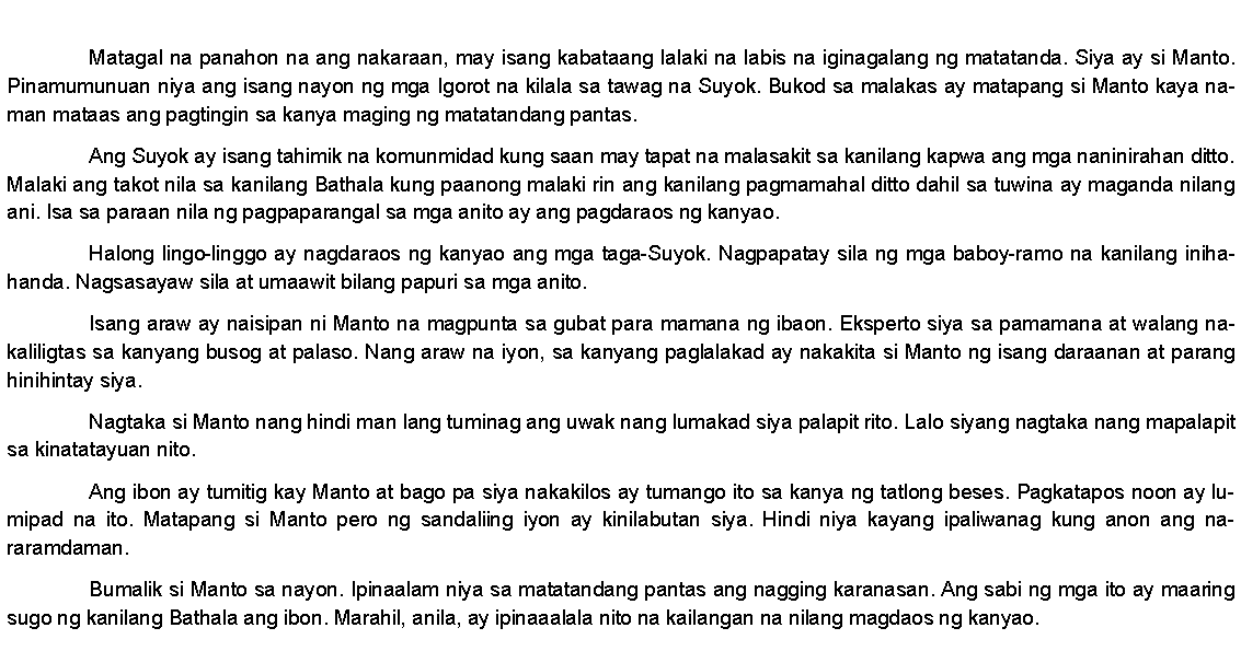 Write my term paper example tagalog