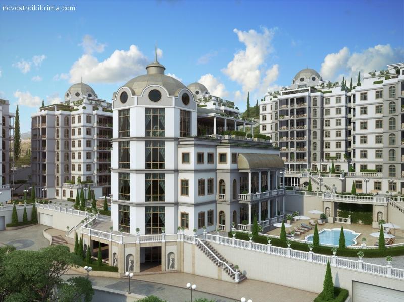Апартаменты на побережье Ливадия недорого