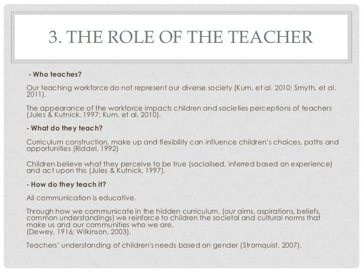 Student Essays: Gender Discrimination In Education