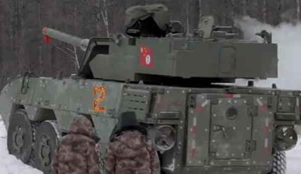 Новый колесный танк замечен наиспытаниях вКитае