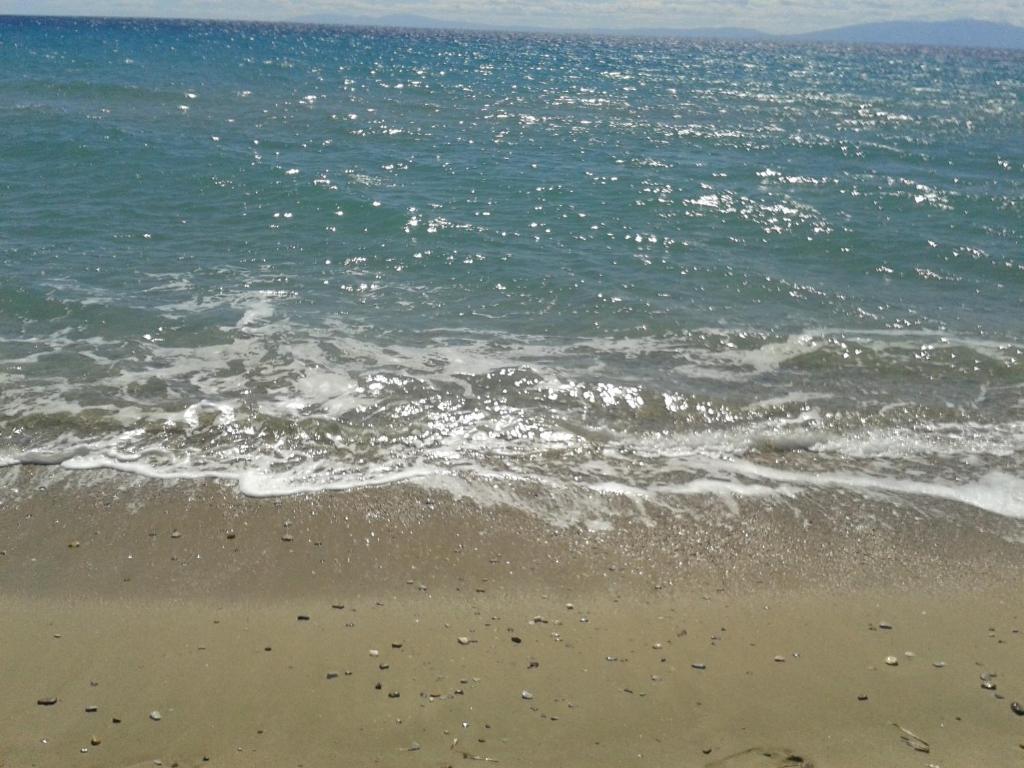 Студия в остров Калликратия на берегу моря в остров Калликратия