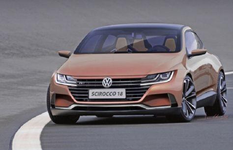 Представлен рендер нового Volkswagen Scirocco