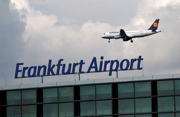 Ваэропорту Франкфурта проходит полицейская операция