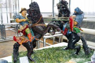ВБратске начался второй фестиваль бетонных скульптур