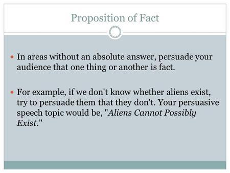 Do aliens exist persuasive essay