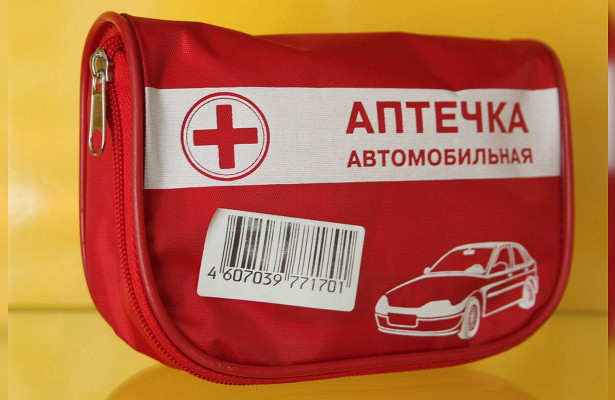 Чтодолжно быть вобновленной автомобильной аптечке?