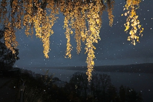 Столица пережила самую холодную ночь осени