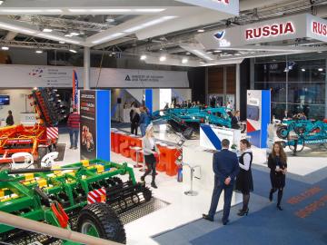 Российские производители представили новейшие разработки навыставке сельхозтехники AGRITECHNICA 2017