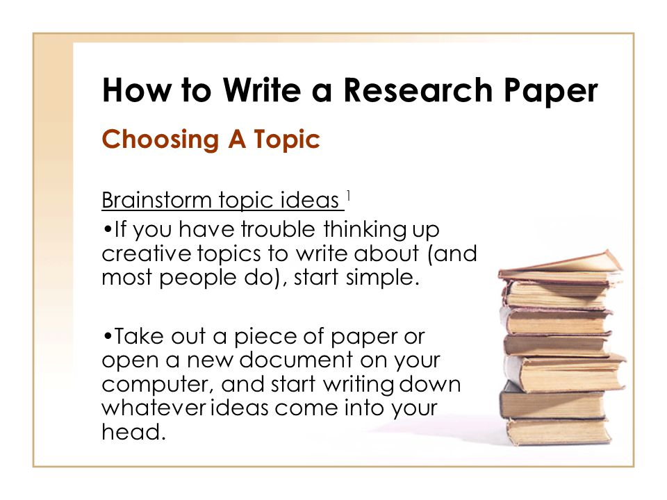 Starting Off A Research Paper - Thesis papers for sale