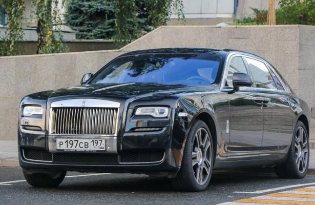 Объявлена рублёвая цена нового Rolls-Royce