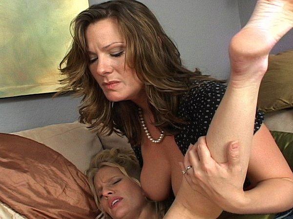 Cfnm cock between tits