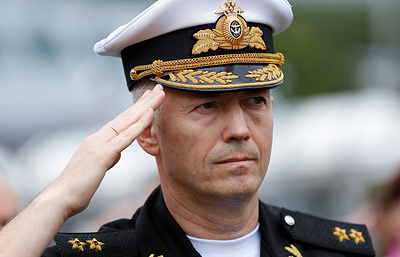 Путин назначил командующего Балтфлотом