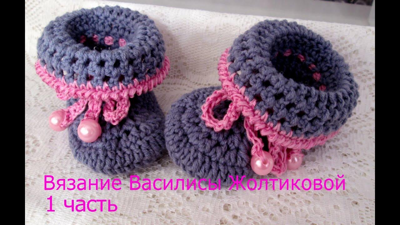 как связать шапочку новорожденному для начинающих