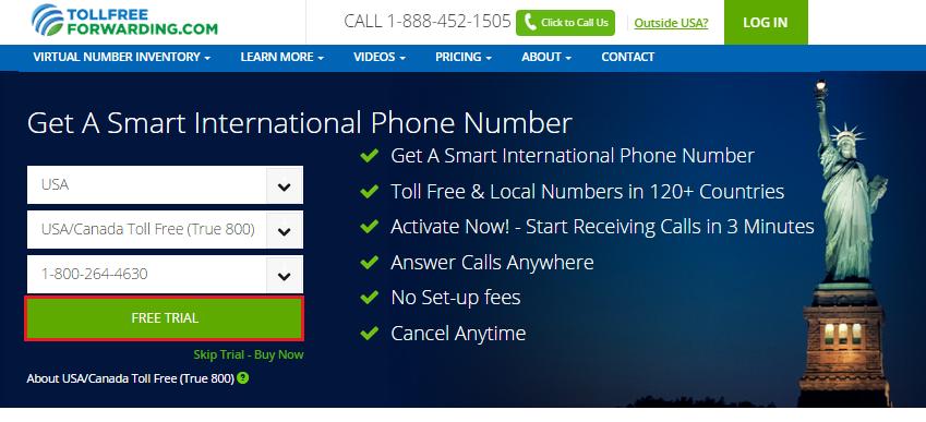 Виртуальный номер смс бесплатно