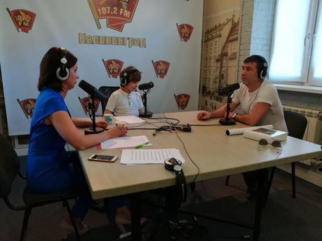 Особенные дети взяли интервью уАлиханова иГришковца: марафон нарадио «КП-Калининград»