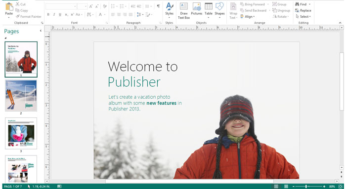 Anleitung microsoft publisher