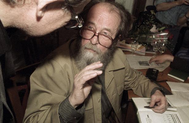 «Александр Солженицын— один извеличайших писателей двадцатого века!»