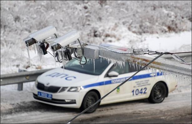Эксперт назвал особенности работы дорожных камер зимой