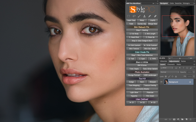 Beauty retouch panel free download