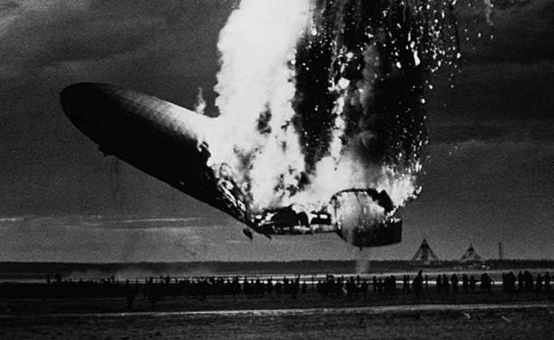 Самые страшные катастрофы дирижаблей-гигантов