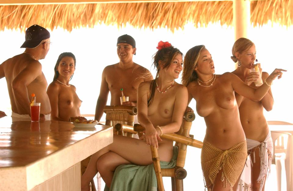 Beach hedonism nude