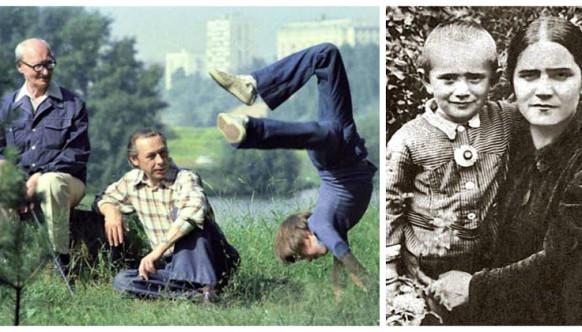 Изличных архивов: трогательные семейные фото любимых сдетства актеров