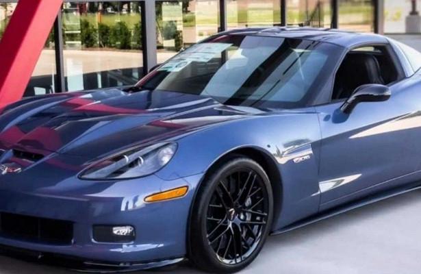 Продается 5-мильный Chevrolet Corvette Z06Carbon Special Edition