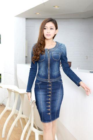 Джинсовая женская одежда на алиэкспресс