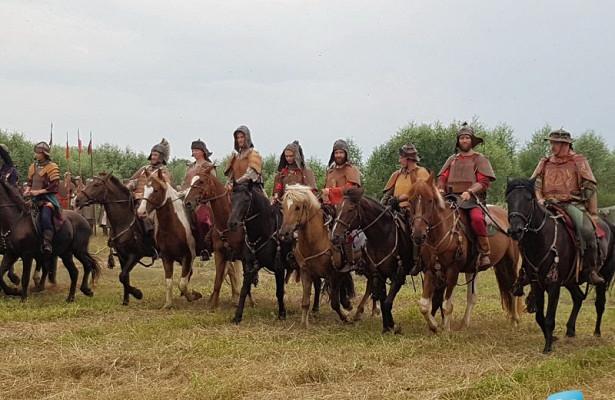 Русские воины вновь одержали победу надордынцами наберегах Угры