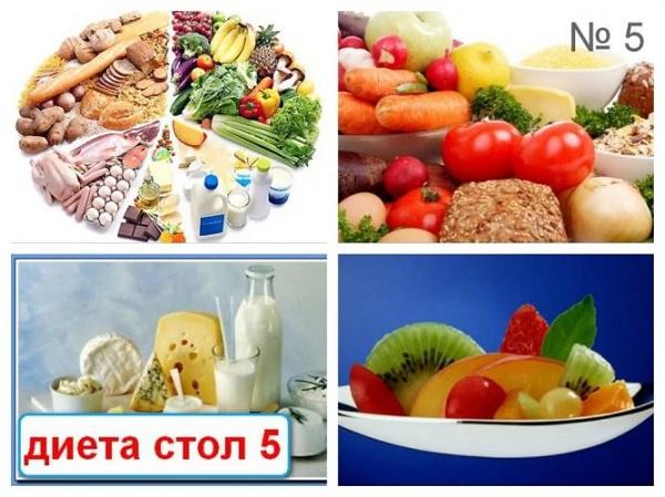 Вариант диеты no 5п