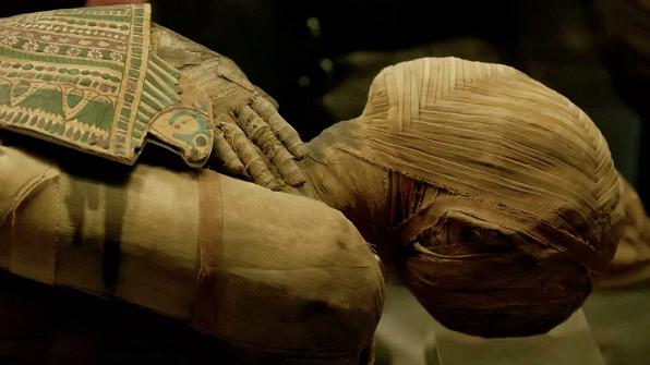 Внутри египетской мумии обнаружен необычный артефакт