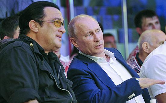Путин предлагал сделать Стивена Сигала консулом России