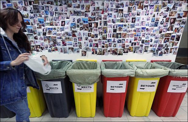 Внедрению раздельного сбора мусора мешает дефицит баков