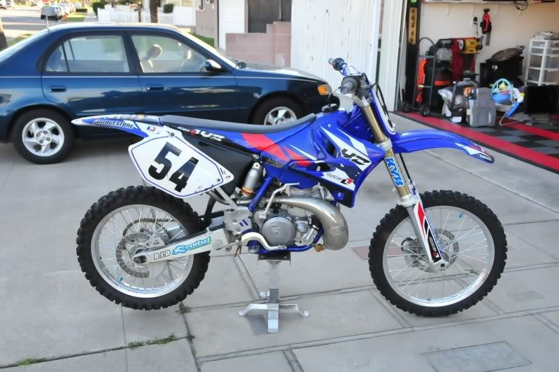 YAMAHA YZ250 FACTORY REPAIR MANUAL 2000-2009 DOWNLOAD
