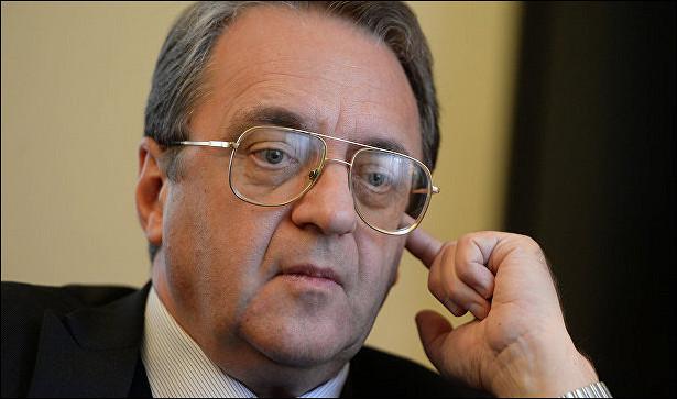 Богданов обсудил спослом Сирии подготовку квстрече вАстане