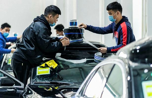 c5cff3b4009c0ebbaa8866eab75d5d48 - Эксперимент сполностью беспилотными автомобилями проводят вкитайском Шэньчжэне