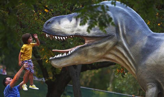 Динозавры прятались отвымирания вКрыму