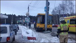 ВДТПсавтобусом вИжевске пострадали 9человек