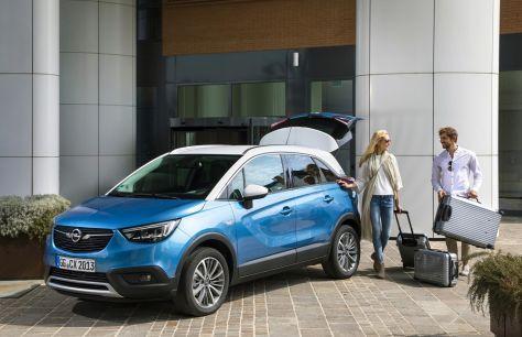 Opel Crossland Xполучает новую версию LPG— газовую версию
