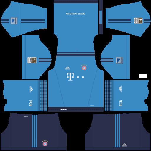 Bayern munick kits dream league soccer 2016