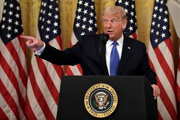 Трамп согласился уйти мирно приодном условии