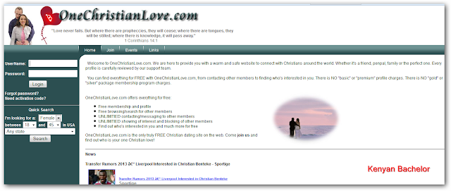 Free christian dating site.com
