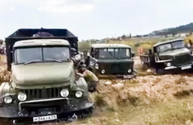 «Грязная» битва: ГАЗ«Шишига» бросил вызов «Уралу» иЗИЛ131