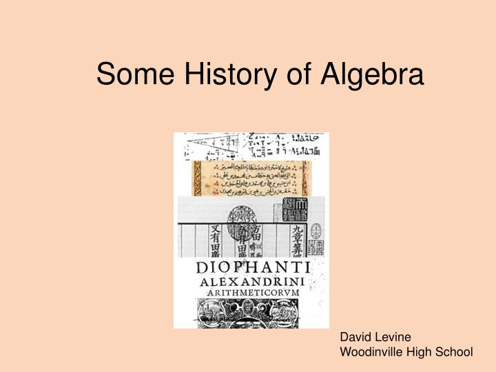 Buy history of algebra essay