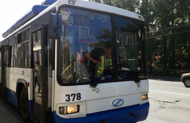 Десять троллейбусов изПетербурга начинают работу вПетрозаводске