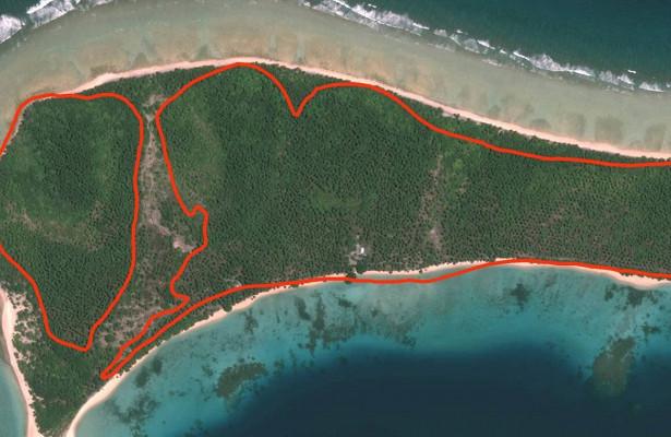 Повышение уровня моря может способствовать росту островов