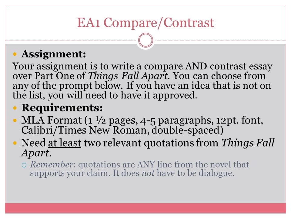 Buy compare contrast thesis